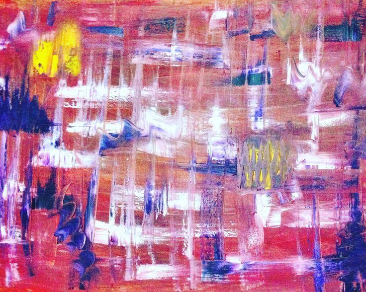 Sidney Tuval Yağlı Boya Çalışması | SoyutResim.com