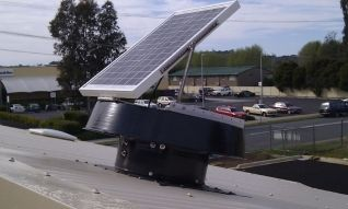 Industrial whirlybird alternative for commercial cooling #solair