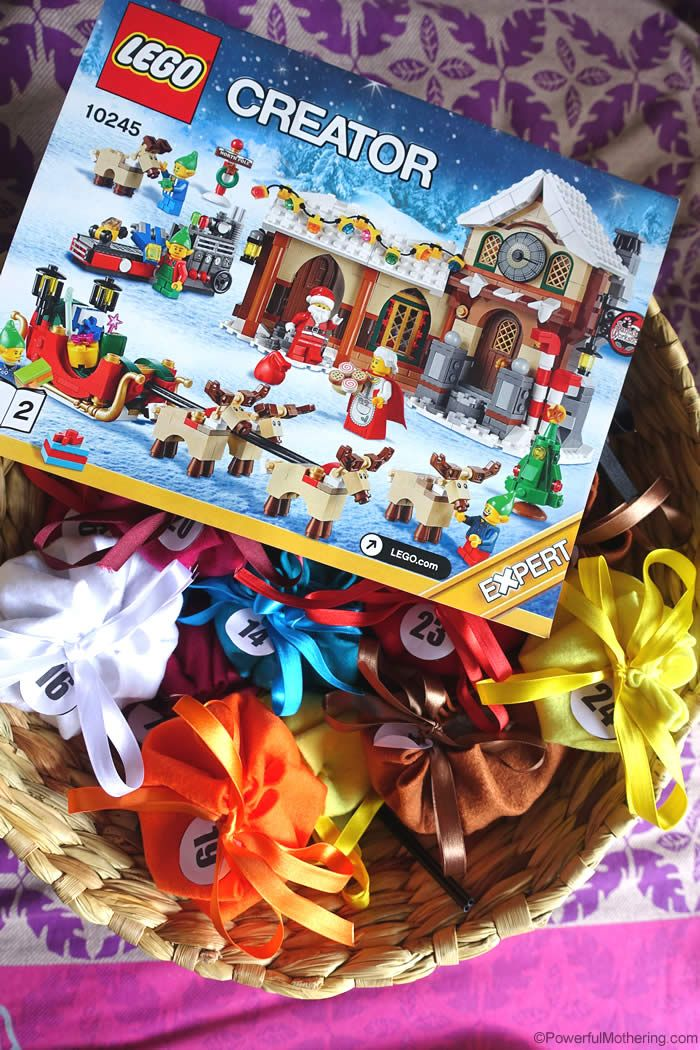 how to build lego christmas stuff