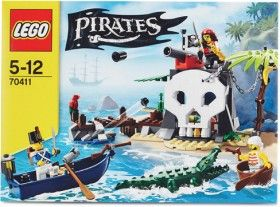 Lego Pirate Treasure Island 70411
