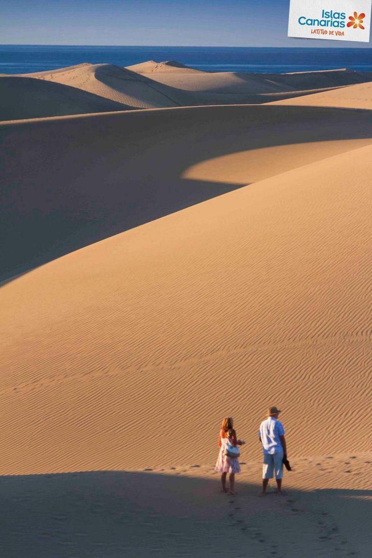 #tienesqueveniraCanarias para perderte por las dunas de Maspalomas. ¿Quién se viene? ¡Buenos días desde Gran Canaria!