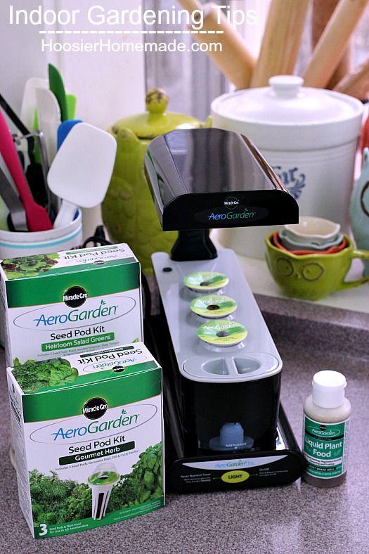 Free indoor gardening tips for your AeroGarden Indoor Garden