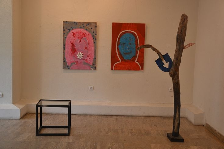 Theodor Grigoras & Gheorghe Zarnescu. Exibition in Bacau, Romania, October 2016.