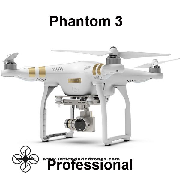 DJI Phantom 3 Professional With 4K Camera & Advanced With 1080p HD Camera RTF -- 839,79€