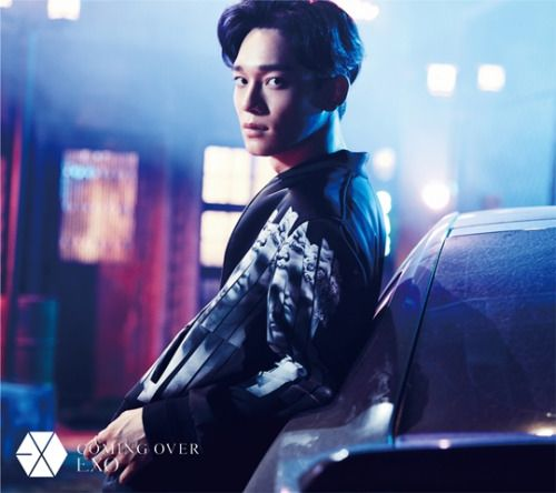 Chen - 161027 'Coming Over' teaser image Credit: Official EXO Japan website.