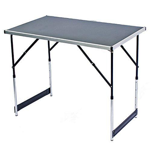 Klappbarer-Multifunktionstisch-Mehrzwecktisch-Campingtisch-Markttisch-Tapeziertisch-Beistelltisch
