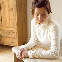 ■ナチュラル服 シンプル■2種類の袖元 タートルネックカットソー/【メール便可】(LSH473)【楽天市場】