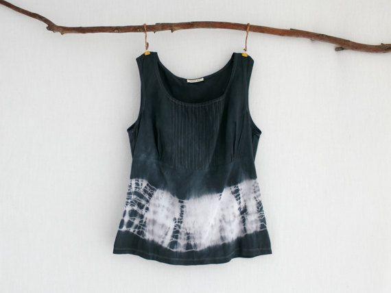 WAYFARER . tie dye women's top . size S  small . by bohemianbabes