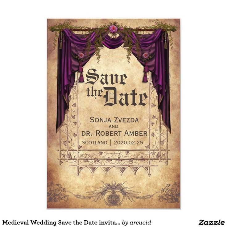 42 best medieval wedding images on pinterest medieval wedding medieval wedding save the date invitation stopboris Image collections