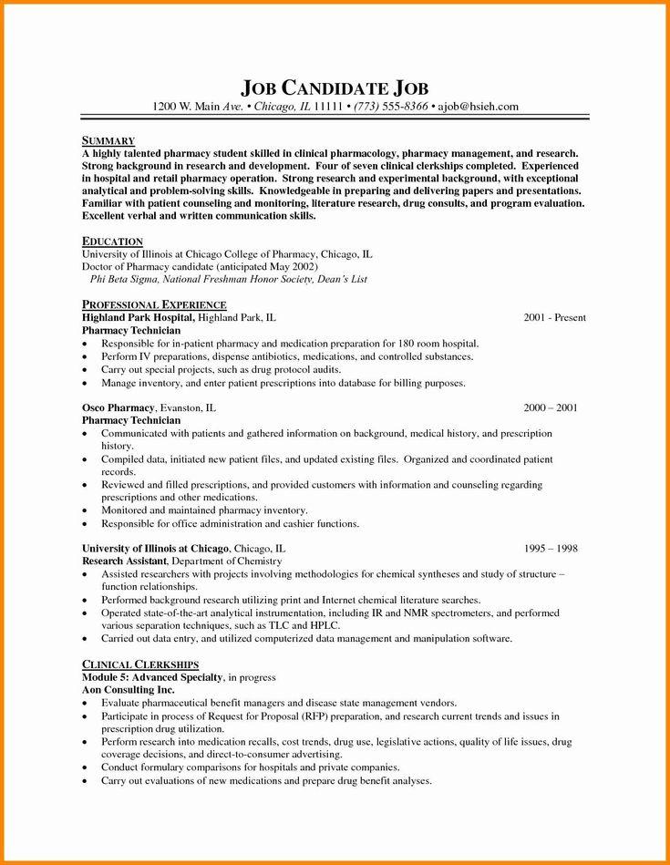 32 best of pharmacy tech resume samples in 2020 resume