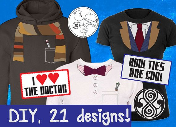Doctor Who Photobooth Printables - First Doctor Costume - Instant