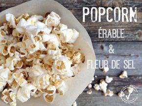 Popcorn au sirop d'érable & fleur de sel ou Cracker Jack deluxe fait maison