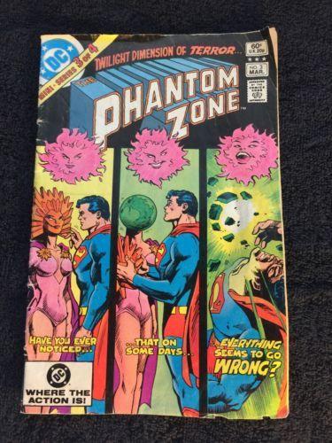 Phantom Zone 1982 Series 3 VG Comic