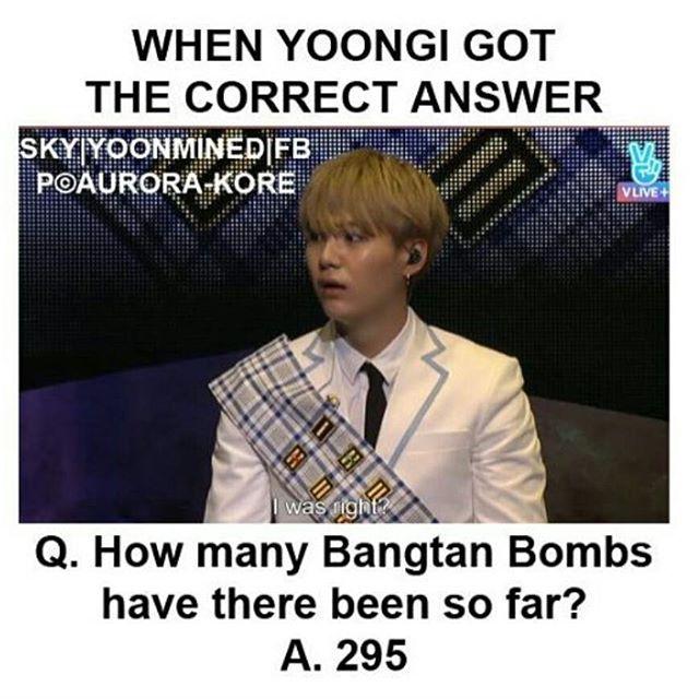 I was just like how... Min Suga.. how.. ❤ #BTS #방탄소년단