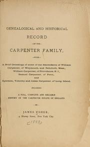 Samuel Carpenter and his descendants : Carpenter, Edward, 1813-1889 : Free Download & Streaming : Internet Archive