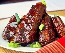 Maple Chipotle Barbeque Braised Ribs