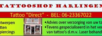 De tattooshop in Harlingen !!!