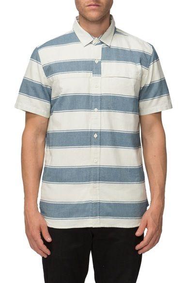 Tavik 'Shin' Stripe Oxford Shirt available at #Nordstrom