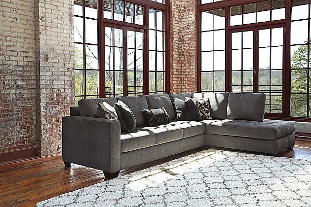 Charcoal Owensbe 2 Piece Sectional Ashley Furniture