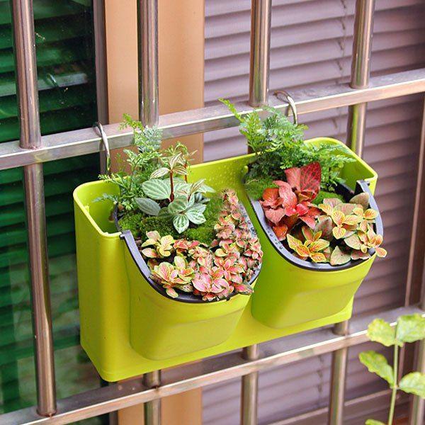 Удобные подвесные горшки для цветов на балконе http://ali.pub/1e1qgy
