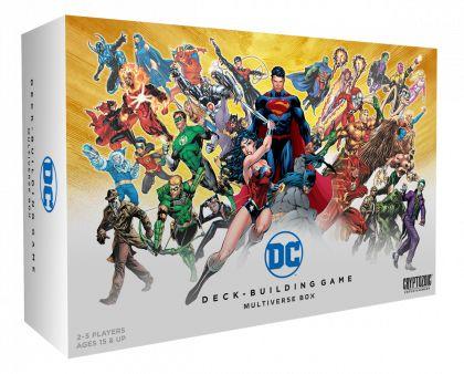DC Deck-Building Game Multiverse Box | Cryptozoic Entertainment