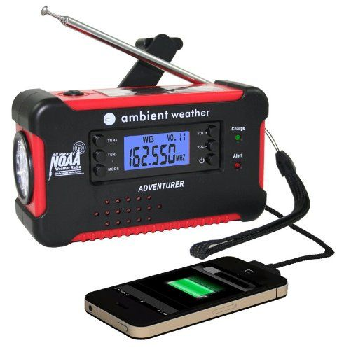 A RV Emergency Radio That Can Light Up a Room and Charge Your Phone