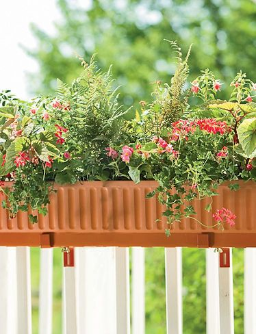 Self Watering Windowbox Planters 39 Inch, Gardeners Supply
