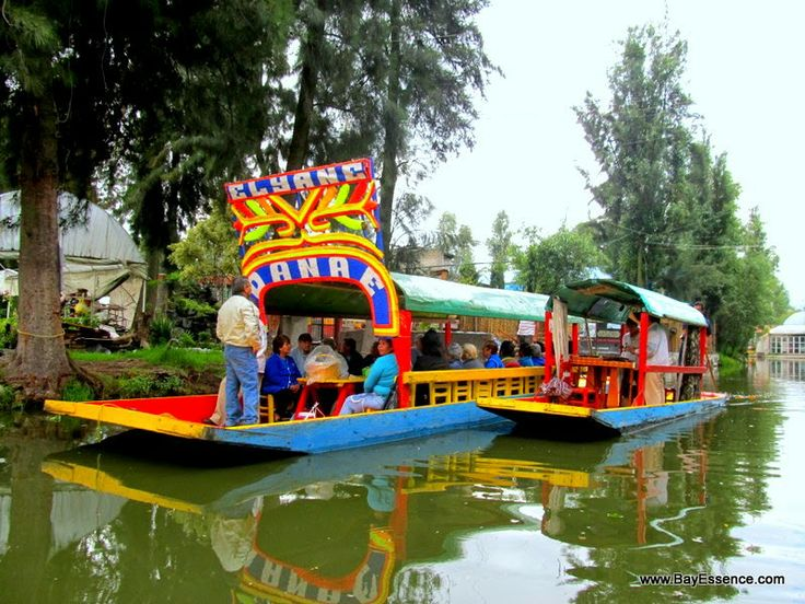 Lunch on a trajinera in Mexico | Xochimilco's Floating Gardens | www.bayessence.com