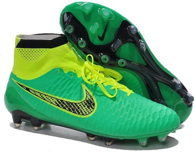 Nike Magista Obra ACC TPU FG Soccer Boots blue neon black