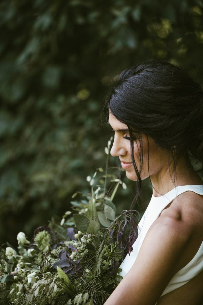Simple, modern, and elegant bridal beauty look and chignon | image by Ali + Juli Photography  #elegantweddinginspo #modernweddinginspo #wineryweddinginspo #weddingphotoinspiration #weddingphotoideas #weddingportrait #weddingdress #bridalportrait #bridalstyle #bridalfashion #bridalinspo #bridalinspiration #bride #bridalhair #bridalhairstyle #bridalmakeup