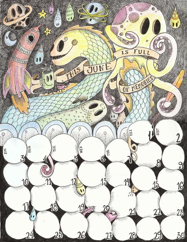 Doodles by Laura Alvarez, via Behance