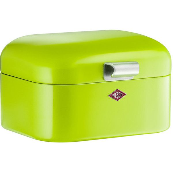Wesco Mini Grandy Bread Bin Lime Green 49 Aud Liked On Polyvore