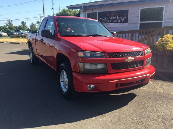 2005 Chevrolet Colorado 4dr Extended Cab Z71 Rwd SB **FOR SALE** By McKenzie River Auto Group LLC - 1790 Hwy 99 North Eugene, OR