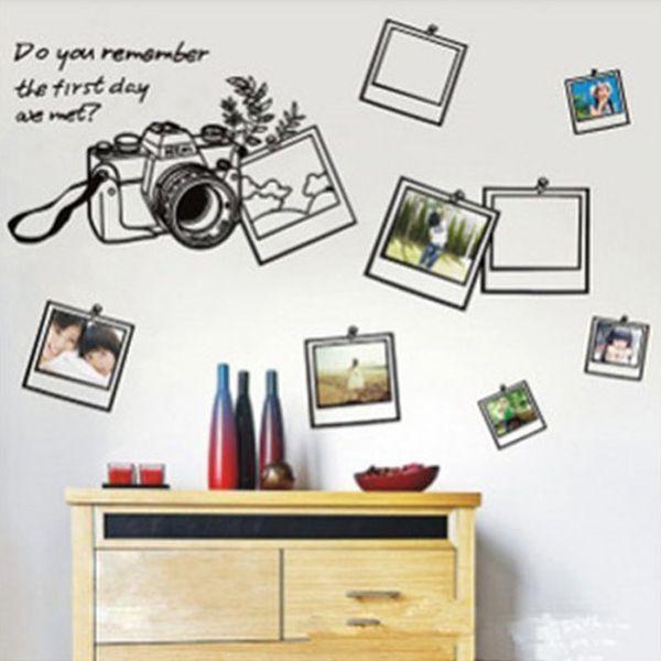 Recuerde que la foto de la pared pegatinas de calcomanías de vinilo para el hogar decoración de la habitación