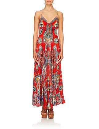 ebed913d2822 Found in Translation Long Dress W/ Tie Front   Apparel   Clothes for ...