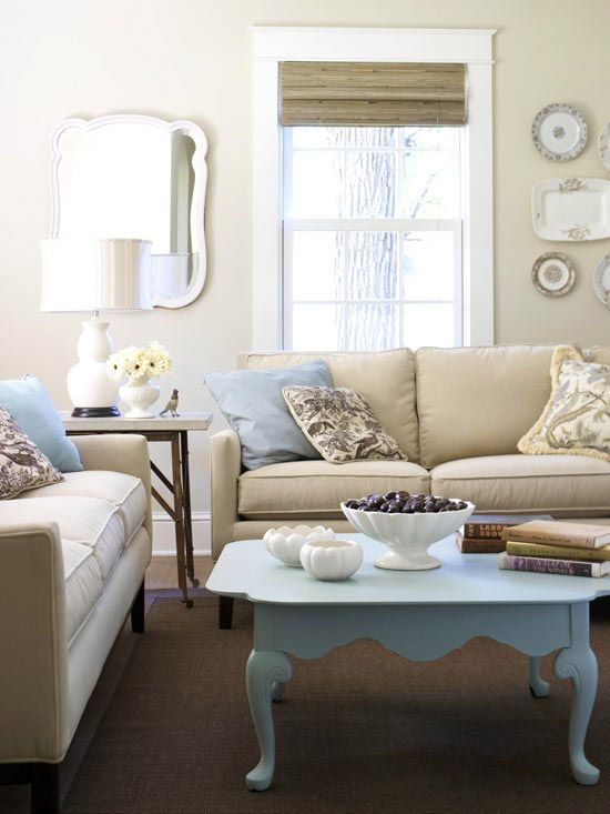 Boost Your Color Confidence. Neutral walls and furnishings provide an easy base
