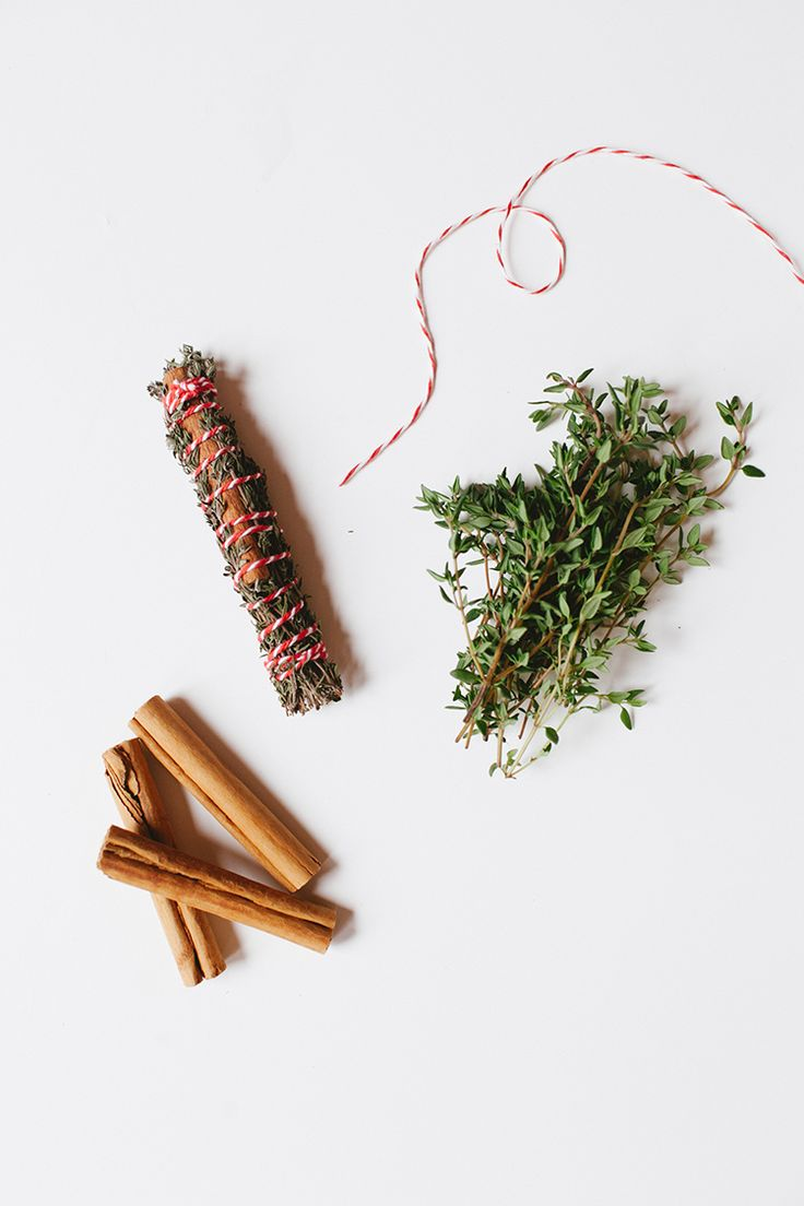 DIY Autumn Smudge Sticks