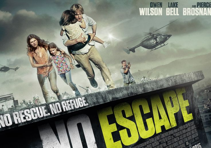 A review of No Escape is one of many you'll find on my brand new website.  Click the new Source below to find out more.