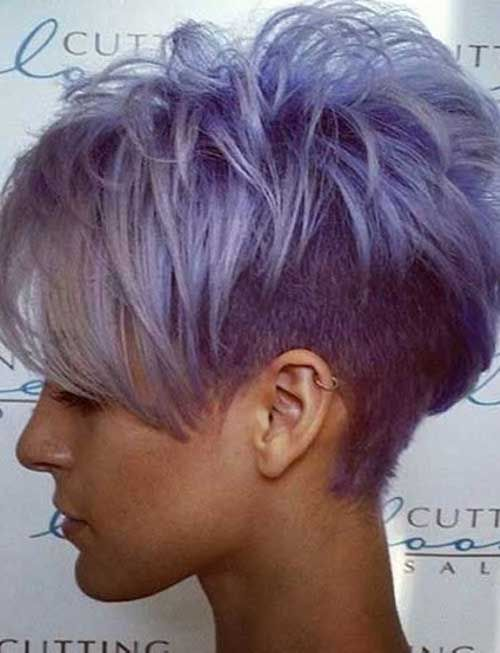 Image result for short blonde hairstyles with purple