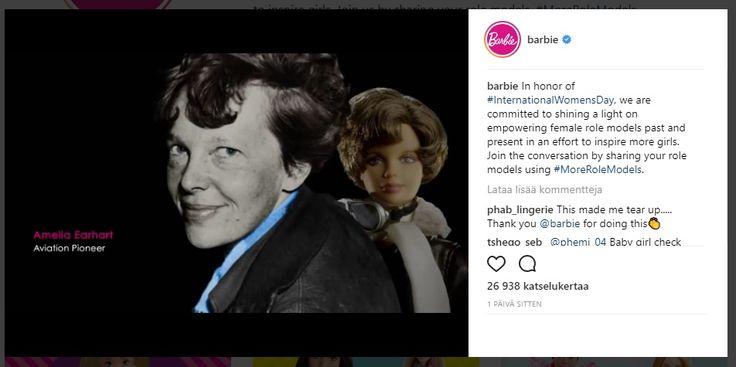 Historialliset+naiset+saavat+omat+Barbie-nukkensa+–+myös+nykypäivän+roolimalleja+kunnioitetaan+nukeilla