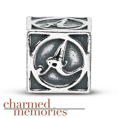 Charmed Memories Initial I Charm Sterling Silver LgIFCUHeV