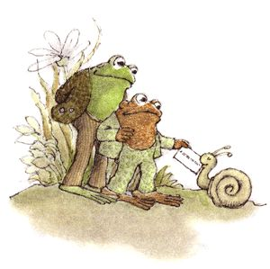 The Frog and the Toad.  They're usually the inspiration for my many talking animal characters. ;) I read those books when I was 5 and have never forgotten!