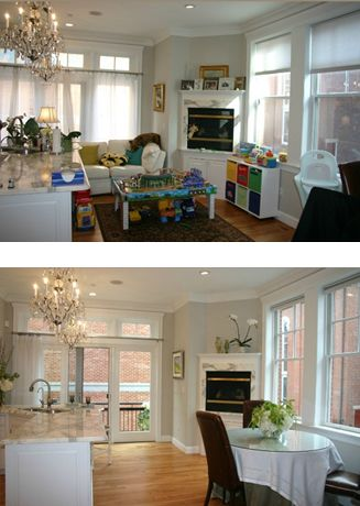 35 best staging images on pinterest before after home for Minimalism before and after