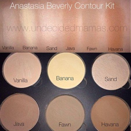 Anastasia Contour Kit!  Love this palette!  It's amazing! It's Matte,  lasts all day.  Worth buying!