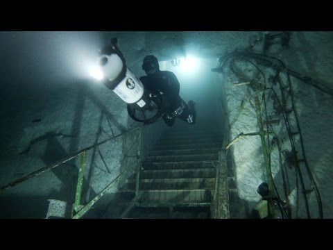 GoPro: Abandoned Mine Diving with Christian Redl - YouTube
