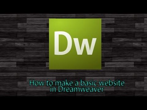 http://siteezy.com - Create your own Simple Content Management System Using Dreamweaver. Easy, step-by-step tutorial. No coding required, complete tutorial u...