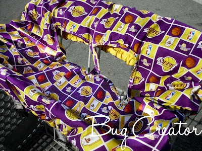 Bug Creator - Crafts and Life: Shopping Cart Cover Tutorial