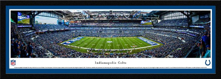 Indianapolis Colts Panoramic Picture - Lucas Oil Stadium Panorama - Select Frame $149.95