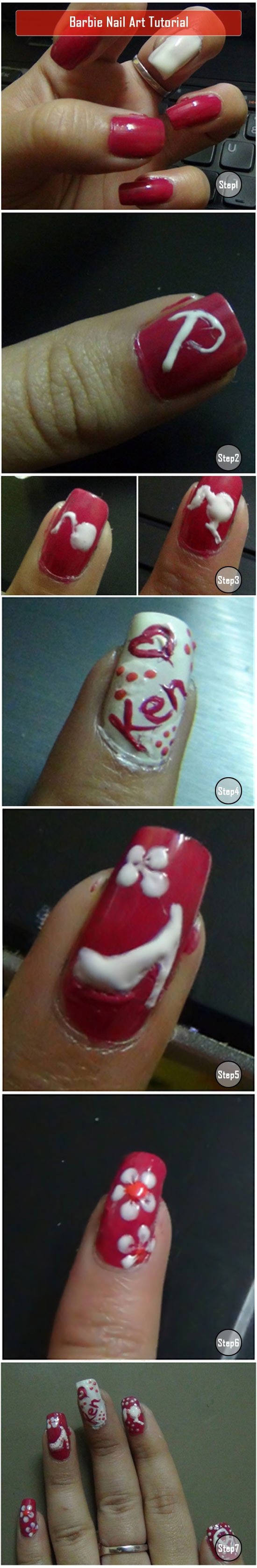 How to do nail art at home cool nail artwork ideas - Different nail designs to do at home ...
