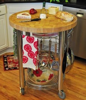 Chris & Chris - Pro Stadium Series Functional Kitchen Island. Perfect for small kitchen!
